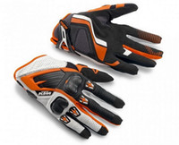Wholesale Driver Gloves - 2015 New cross-country Motorcycle gloves KTM RACE COMP GLOVES GLOVES 14 MOTO racing driver Gloves Orange white black color size M L XL