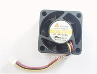Wholesale New Computer Power Supply - The new Y.S.TECH 4cm 40*40*20 12V 0.12A FD124020EB three line power supply fan mute