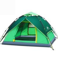 Wholesale Hydraulic Construction - Free Shipping New type of thickened Rain Tight Camping outdoor - hydraulic automatic tents and Anti cold and warm PU waterproof coating