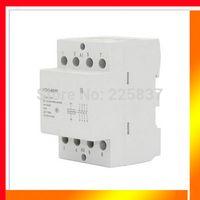 Wholesale Mini 4p - Wholesale-Free shipping high quality NCH8-63 40 AC 220v 230v 50 60Hz 63A 4-NO 4P 4-pole household mini DIN Rail modular AC contactor