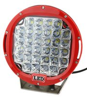 Wholesale offroad lights for sale - LED spotlight for W inch LED RED Driving Spot Work Light WD Offroad VS Hid W outdoor bar lighT bright SUV car light