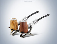 Wholesale Wooden Ecig - kamry k1000 wooden e pipe epipe kit kits vaporizer pen wood atomizer coil coils ecig ecigar e cig electronic cigarette smoking water pipe