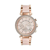 Wholesale Gift Boxes For Belts - Fashion Quartz Women's Watch Rose Gold Dial Stainless Steel Ladies Wristwatch Gift For Women 5896 with box