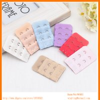 Wholesale Wedding Apparel China - Bra 2 hooks clasp bra adjustable back strap extender wed apparel accessory shopping online from China wholesale