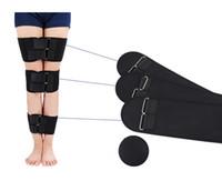 cinto de pernas venda por atacado-3 PÇS / SET Postura Corrector Pernas Cinto de Cuidados Pessoais coxa OX Perna Orthotic fita fácil curvas cintos de bandagem elástica