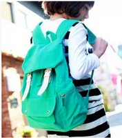 Wholesale Cheap Rucksacks - Back To School Bags Canvas Rucksack Travel Bag Student Backpack Cheap Price Free Shipping XBG041