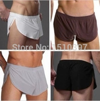 Wholesale Sleeping Sexy - Wholesale-N2N ,classical male arrow pants, soft sport underwear, sexy home short sleep bottoms, free shipping