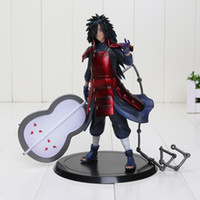 "Wholesale Action Figure Madara - 7"" 17cm Naruto Uchiha Madara PVC Action Figure Model Toys Collection Doll With Box for children Christmas gift Free Shipping"