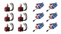 6 X DJI 2212 920KV Brushless Motor + 6X DYS Simonk 30A Brushless Speed ​​Controller ESC para DJI F550 <b>DIY Hexacopter</b> Multirotor