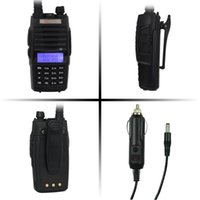 Gros-Xgody TONFA TF-Q5 UHF + VHF Dual Band Talkie Walkie 10W Ham FM radio bidirectionnelle + Chargeur Voiture radio portable