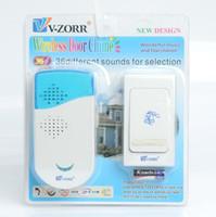 Wholesale Door Control Single - Wireless Chime Doorbell Door Bell Digital Single Receiver 36 Tunes 100m Range Remote Control Home Gate Security