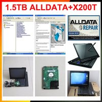 Tutti i dati del software di riparazione automatica HDD installato x200t Tough Screen Rotation Software Alldata 10.53 e Mitchell in 1.5tb hdd DHL fre