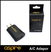 Wholesale Ego Wall Adapters - Wholesale - Aspire Wall charger for charging ego Battery Aspire wall adapter USB Charger for Aspire CF Batteries Aspire ego USB wall charger