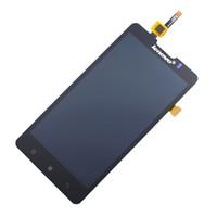 замена мобильных телефонов lcd-экранов оптовых-Wholesale-New Original P780 LCD Glass Screen LCD Display Replacement For Lenovo P780 Mobile Phone