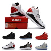Wholesale Corsa Black - Newest Air Retro XXX2 Rosso Corsa Bred 10.18 Men Basketball Shoes Retro 32 MJ Day Red Black OKC PE Sports Sneakers 40-46