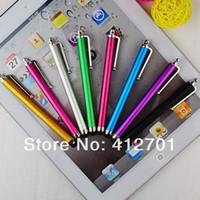 toque los precios de los teléfonos al por mayor-Al por mayor-Para la pantalla capacitiva Stylus Pen, Especialmente tableta inteligente Touch Stylus Pen, precio más bajo para iPad / iPad 2 / iPhone