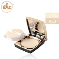 Wholesale Essence Powder - 2015, EFU Romantic lotus Essence velvet natural powder Brighten concealer face #7017