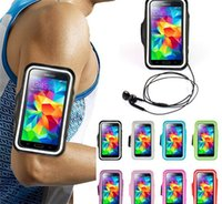 WaterProof Sport Gym Running Brabange Protector Soft Case Funda Case para iphone 4 4s 5 5s 6 4.7