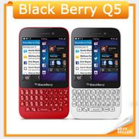 Wholesale Original Blackberry Q5 - Unlocked Blackberry Q5 4G LTE Mobile Phone 5.0MP Camera Dual-core 2GB RAM 8GB ROM Original Q5 Cellphone