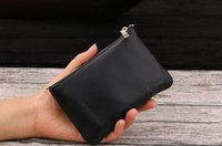 Wholesale Men Brand New Leather Wallet - New designer Fashion Tote AAA wallet High Quality Leather luxury Men short Wallets Famous Brand for women Men purse Clutch Bags with box