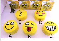Wholesale Smile Speakers - 2015 HY-BT25 Speakers Bluetooth Speakers USB TF cards Laugh big smile kiss cute Naughty Five Expression