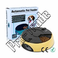 Wholesale 10pcs Meal Tray Programmable Timer Automatic Pet Dog Cat Feeder Water Tray Bowls Meal Automatic Pet Feeder