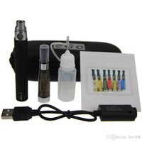 en iyi vaporizer elektronik sigara toptan satış-CE4 eGo Başlangıç Kiti Elektronik Sigara Fermuar Kılıfı Tek Kiti E-Sigara 650 mah 900 mah 1100 mah Pil en iyi fiyat CE4 atomizer buharlaştırıcı