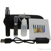 meilleur étui à cigarettes électronique achat en gros de-CE4 eGo Starter Kit Cigarette Électronique Zipper Case Kit Unique E-Cigarette 650 mah 900 mah 1100 mah Batterie meilleur prix CE4 atomiseur vaporisateur