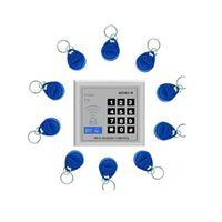 schlüsseltastenschlösser großhandel-Sicherheit RFID Proximity Entry Door Lock Zutrittskontrollsystem 10 Schlüssel Zutrittskontrollkartenleser 800860