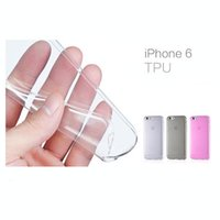 Wholesale Clear Deals - Super Deal 0.3mm Ultra Thin Soft TPU Gel Clear Case For iPhone 6 4.7 Original Phone Back Cover Bag For iphone 6 Plus 5.5 inch