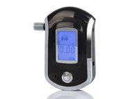 Brand New AT6000 Digital Alcol Tester professionale Display LCD Alcol Tester Etilometro Breath