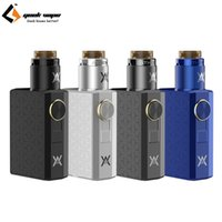 Original E Cigarette Geekvape Athena Squonk Kit Squonk Mechanical Mod Vape 6.5ml Бутылка с Squonk RDA Tank Vaporizer