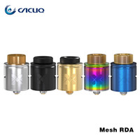 Wholesale Atomizer Mesh - Vandyvape Mesh RDA Tank Compatible with Mesh Wire & Standard Coil Invisible Clamp Style Postless Deck Atomizer Original 24mm rda vape