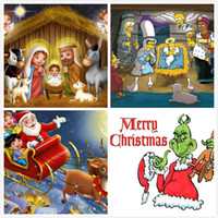 Wholesale Flying Banners - 150*90cm Christmas Santa Banners Flag Merry Christmas Cartoon Polyester Banner Party Festival Decoraction Banners Flying Flag Xmas Gift