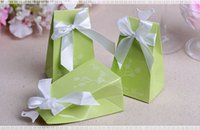 Wholesale Wedding Favours Rings - 2016 Party Favours candy box Lots Paperboard Continental Personalized wedding Love birds and Ring Diamond Candy Boxes