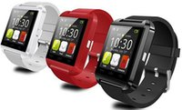 u8 smart watch mate großhandel-U8 Smart Uhr Armbanduhr Telefon Mate Bluetooth für IOS Android iPhone Samsung LG HTC, 1,44