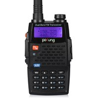 Wholesale Baofeng Bf F9 - Wholesale-Baofeng BF-F9+TP Two-Way Radio, Dual Band UHF VHF Ham 136-174 400-520MHz Tri-Power 1 4 8W