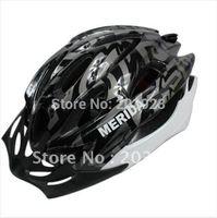 Wholesale Merida Cycle Helmets - Wholesale-New arrival Cycling Bicycle helmet BMX Adult Mens Bike MERIDA Helmet black