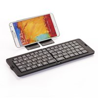 Keyboard Only Foldable  Bluetooth Wireless Keyboard for PC Foldable Keyboards ABS Material Multifunctional Design for Sale GK218