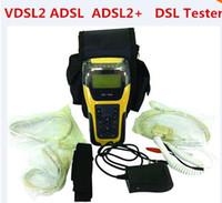 Wholesale Xdsl Tester - DHL FREE VDSL2 Tester ST332B ADSL WAN & LAN Tester xDSL Line Test Equipment with 2 years warranty