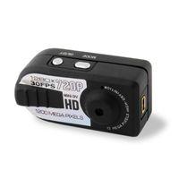 Wholesale thumb camera resale online - HD Mini Thumb DV Q5 mini DVR P fps Sports mini camera Motion Detection camcorder pc webcam digital video recoder