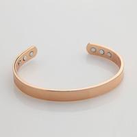 Wholesale East Relief - Rose gold plated BRACELET ARTHRITIS RELIEF Bangle   Bracelet fashion man ladies power magnetic bangles B19
