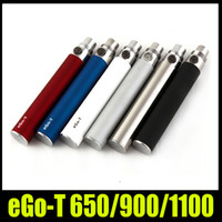 Wholesale Ce5 Vs Ego T - TOP Ego-T Battery Ego t 650 900 1100mah E Cigarette battery for 510 Thread MT3 CE4 CE5 Atomizer vs ego c twist DHL Free