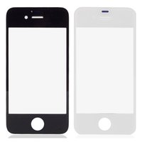 Wholesale Iphone Mirror Parts - Newest Hot Replacement Touch Screen Lens Glass Part Mirror Fit For Iphone 4S Repair Free Shipping