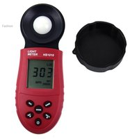 Wholesale 2015 New Lux Digital Meter Light Luxmeter Meters Luminometer Photometer Lux FC Batteries Not included
