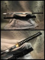 Wholesale High Carbon Steel Katana - Japanese Samurai Full Tang Sword Katana High Carbon Steel Sharp Hand Forge #3442