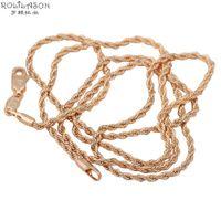 Wholesale Top Popular Necklaces - Fashion Jewelry Necklace Top popular Design ! Wholesale 18K gold plated 58cm Perimeter Chains Necklaces fashion jewelry LN102