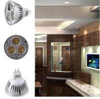 Wholesale Mr 16 9w - MR16 12V LED Light Bulb 9W 12w 15w High Power mr 16 LED Spot Light Bulb Lamp White Warm White Bulb lamp