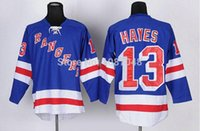 Wholesale Lights Ranger - 2015 New New Free shipping Cheap,2014 New York Rangers Jersey 13# Kevin Hayes 16# Brassard #30 Henrik Lundqvist Light Blue Home