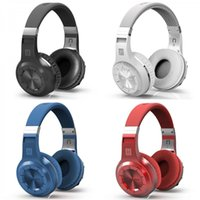 Wholesale Nextel Radio Phones - Bluedio H+ Wireless Bluetooth 4.1+ EDR Bass Stereo Headset H Plus Headphone Built-in Mic TF card FM Radio For cell phone